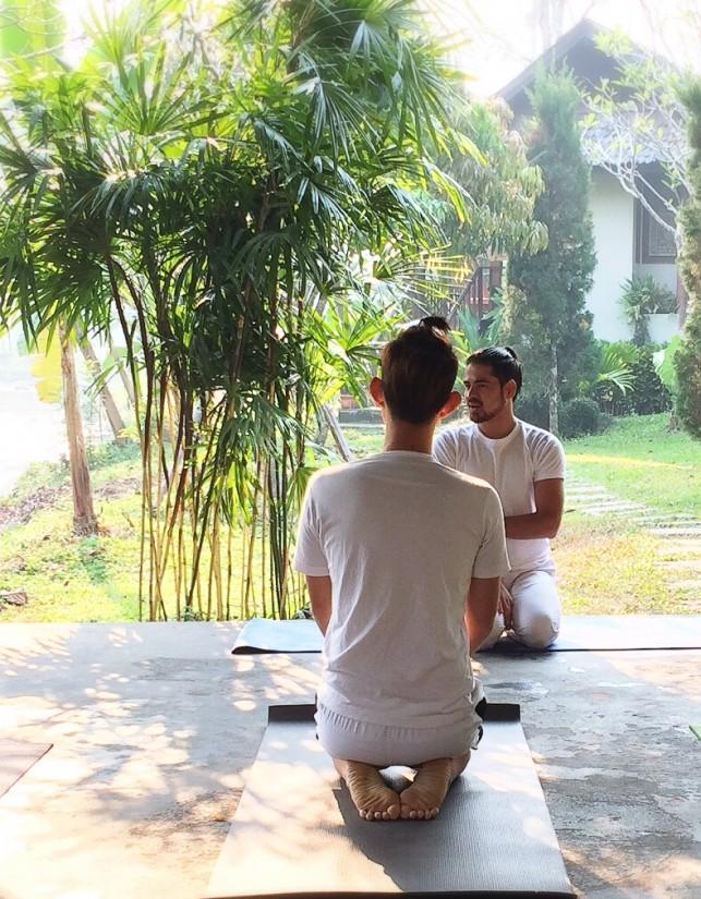 คลาสเรียนโยคะฟรี Free Lesson Hatha Yoga for Beginner