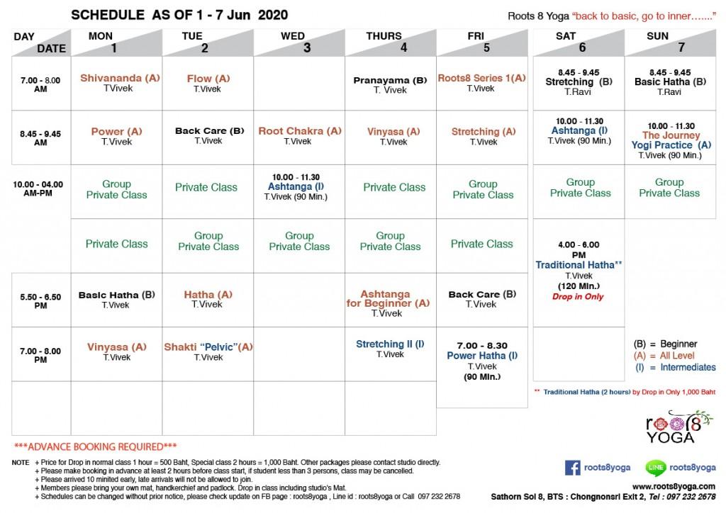 Schedule 1-7 Jun-01 (1)